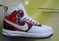 Кроссовки Nike Lunar Force 1  Duckboot white Gum