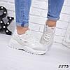 Кроссовки женские Frendy белые 5573, спортивная обувь
