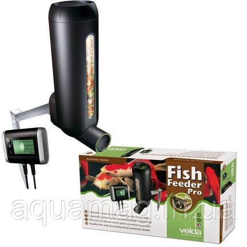 Автоматическая кормушка для рыб Fish Feeder Pro для пруда, водоема, озера