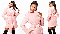 Женское утепленное кашемировое пальто. 4 цвета!