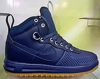 Кроссовки Nike Lunar Force 1  Duckboot blue Gum