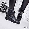 Ботинки женские Elly черные 5574, ботинки женские