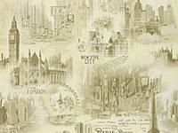 Бумажные обои Славянские акриловые, дуплексные Gracia B66,4  Сити 5166-04 (0,53х10м.)