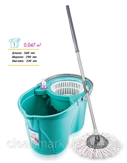 Комплект для мытья пола Титаник (ведро+швабра+отжим) TSM 240