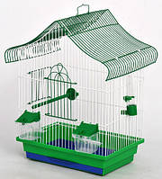 Клетка для попугая Мини  1 краска 330х230х450 мм, фото 1