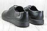 Шкіряні чоловічі туфлі туфлі, мокасини великих розмірів:47,48, фото 5