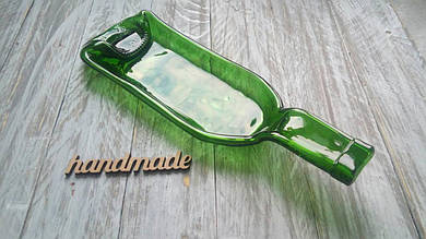 Эко-тарілка із пляшки Classic зелена, оливкова, прозора