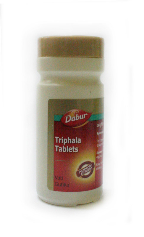 Трифала, Triphala, 60 табл. -  детоксикация печени, тонкого кишечника, почек, кожи, легких