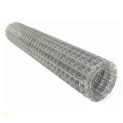 Сварная оцинкованная сетка для клеток 25*25*1,4 ширина 1м