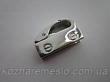 Подвес - карабин боковой никель