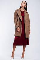 Женское пальто двубортное