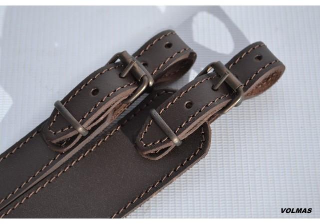 Ремень для ружья трапеция кожа спилок , фото 1