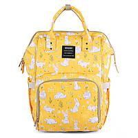 Желтая сумка - органайзер для мамы