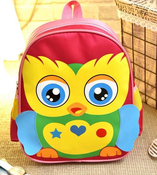 Розовый рюкзак Птичка для девочки