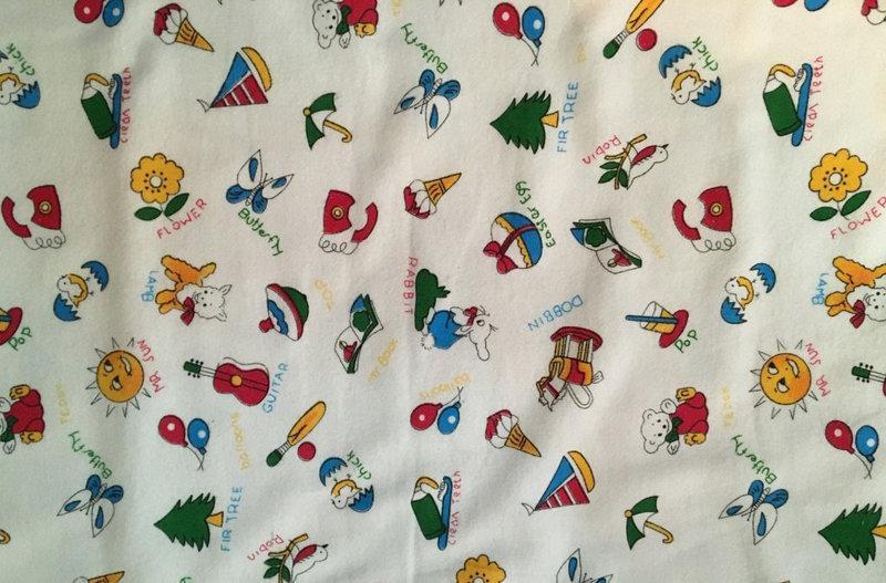Байкова тканина в рулоні - Метелик іграшка