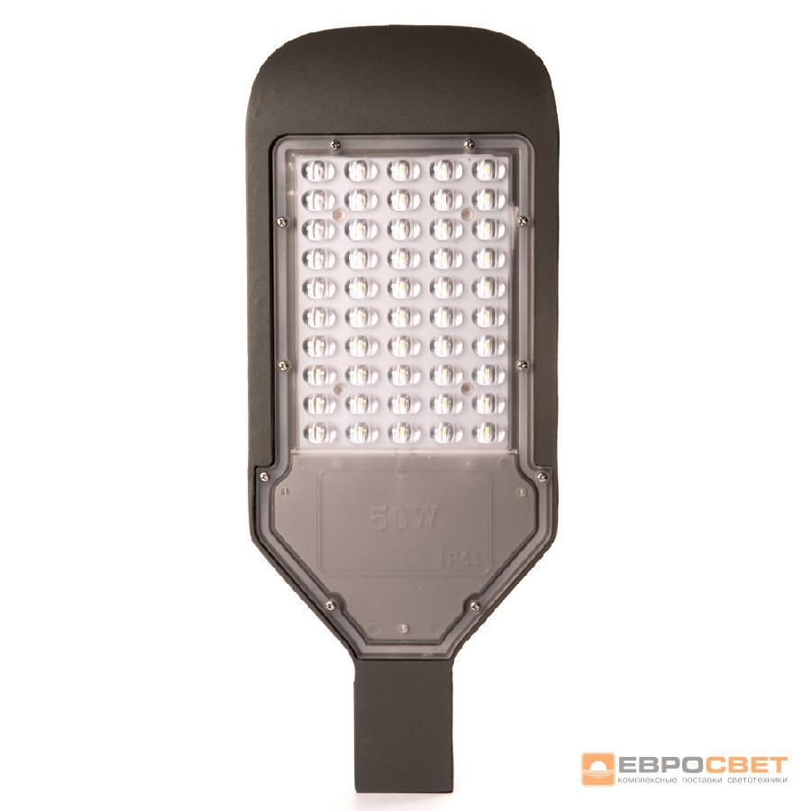 Светильник светодиодный консольный ЕВРОСВЕТ 50Вт 6400К SKYHIGH-50-060 4500Лм IP65