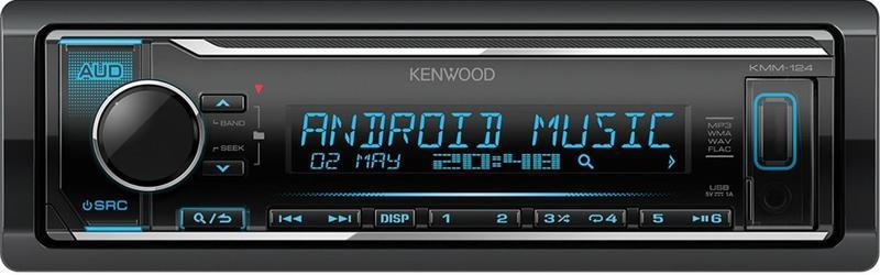 Авторесивер Kenwood KMM-124