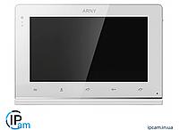 Цветной видеодомофон ARNY AVD-710MD (Белый)