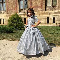 Детское нарядное платье с блеском