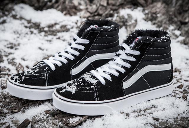 Зимние кеды Vans
