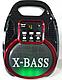 Колонка-комбик GOLON RX-820 BT Bluetooth + MP3, радиомикрофон, пульт, цветомузыка, фото 2
