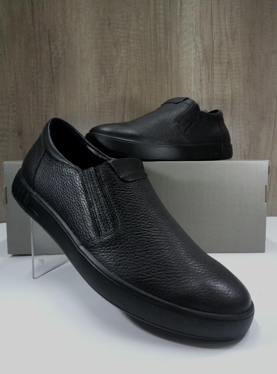 Туфли мужские из натуральной кожи МИДА 110364