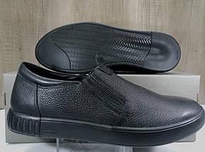 Туфли мужские из натуральной кожи МИДА 110364, фото 3