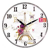 """Настенные часы """"Изысканный Париж"""" 29 см МДФ, фото 1"""