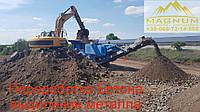 Переработка, дробление бетона, выделении арматуры, метала