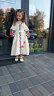 """Детское платье в стиле бохо """"Нежный цветок"""""""