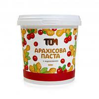 Арахисовая паста ТОМ - С клюквой (500 гр)