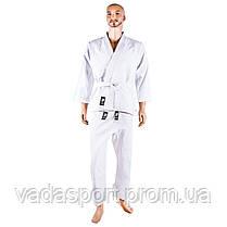 Кимоно дзюдо, белое, 8oz, 110
