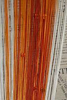 Шторы Нити, Кисея стекло стеклярус № 1-2-3