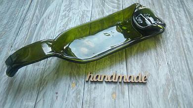 Эко-тарелка из бутылки Elegance