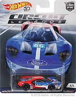 Коллекционная машинка Hot Wheels  Ford GT 40LM
