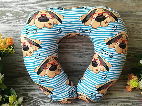 Автомобильная подушка собака в очках , 41 см * 34 см , фото 2