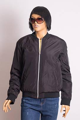 Куртка - Бомбер женская MZGZ MZGZ HYBOMBINI BLACK