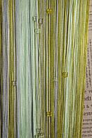 Шторы Нити, Кисея стекло № 125