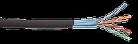 LC3-C5E04-339 ITK Кабель связи витая пара F/UTP, кат.5E 4х2х24(0,51мм)AWG solid, LDPE, 305м, черный