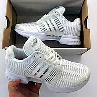 Мужские кроссовки белые Adidas Climacool 1 ( точная копия)