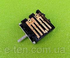 """Перемикач п'ятипозиційний QF307 / 16A / T150 / 250V для електроплит (на нову """"Мрію"""", """"Злату"""")"""
