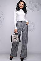 Свободные широкие женские брюки 2757