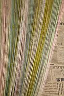 Шторы Нити радуга, Кисея стекло № 1255, фото 1