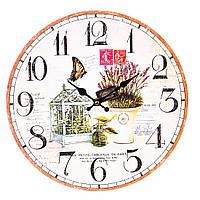 """Стильные часы на стену """"Уют"""" 34 см МДФ, фото 1"""