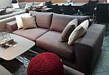 Раскладной коричневый диван MANHATTAN 250 см ALBERTA (Италия) бесплатная доставка, фото 3