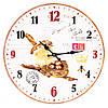"""Настенные часы """"Птичье гнёздышко"""" 34 см МДФ"""
