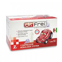 Ингалятор (небулайзер) Dr.Frei Turbo Car компрессорный гарантия 2 года
