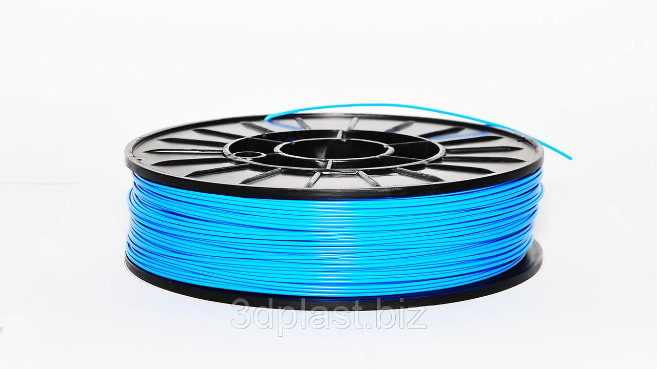 HIPS (УПС) пластик для 3D печати, 1.75 мм, 0.75 кг голубой