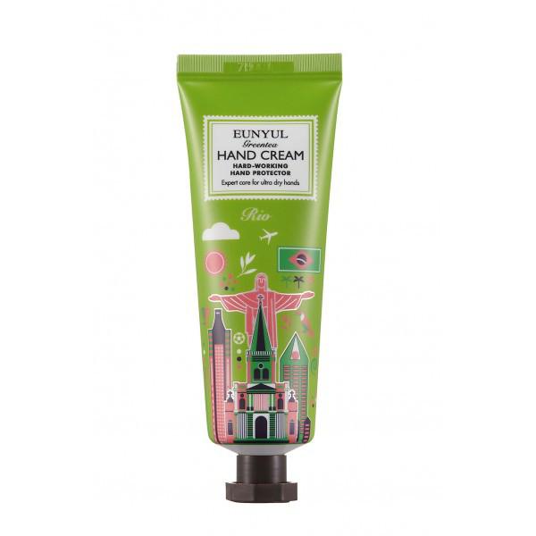 Крем для рук с зеленым чаем EUNYUL Green Tea Hand Cream - 50 мл