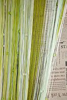 Шторы Нити радуга, Кисея стекло № 11519